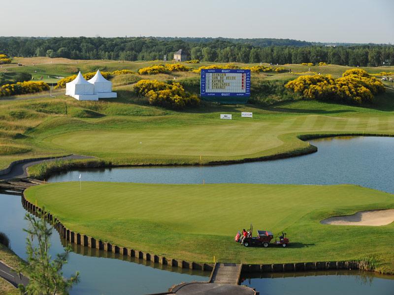 S 233 Jour Golf En H 244 Tel Quatres 233 Toiles Au Golf National