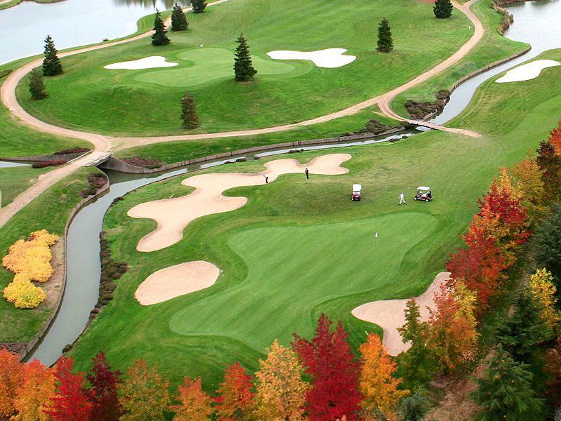 Séjour au golf du parc d'Hersant en Eure-et-Loire France