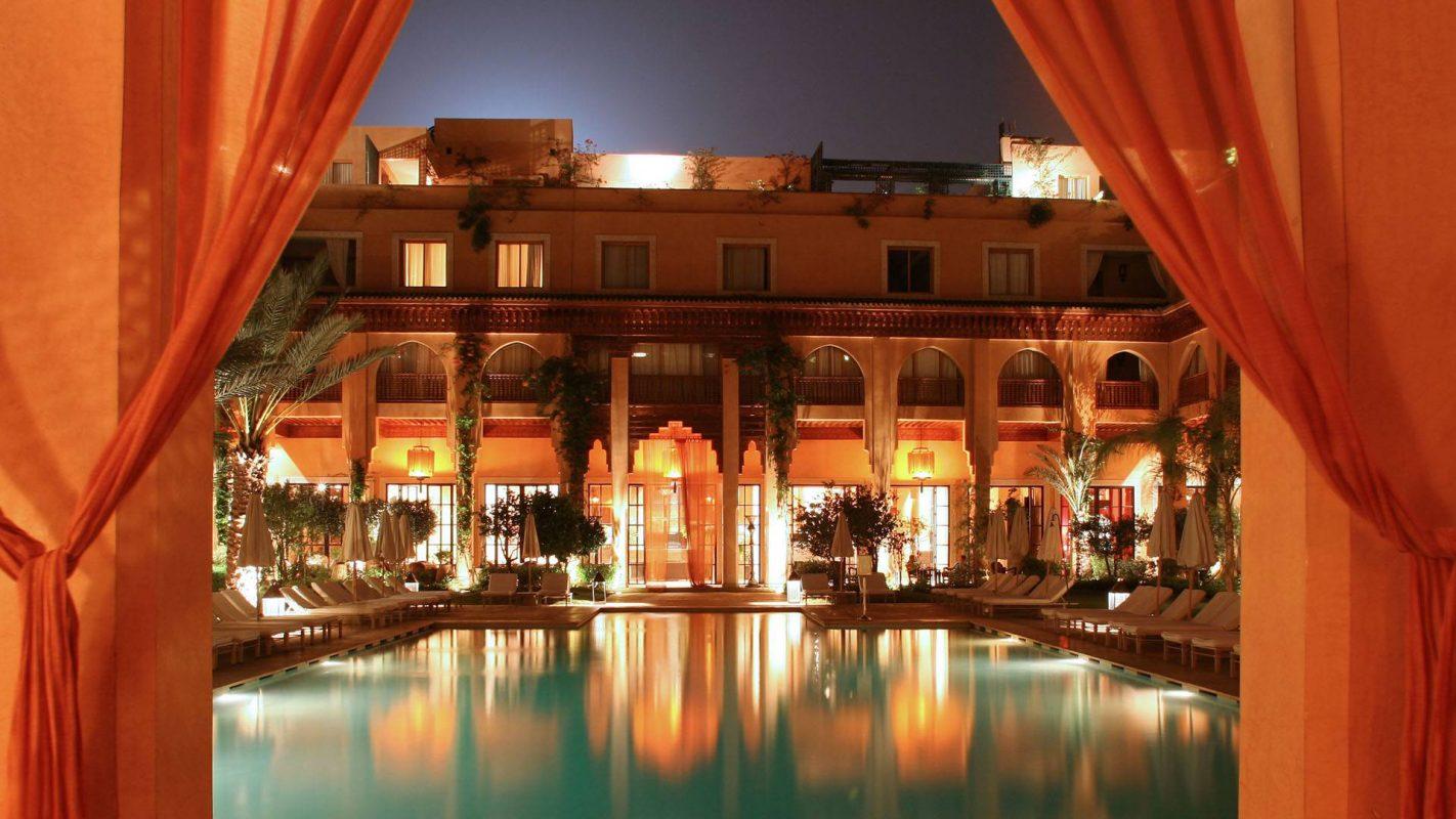 s jour golf au maroc marrakech l 39 h tel les jardins de la koutoubia. Black Bedroom Furniture Sets. Home Design Ideas